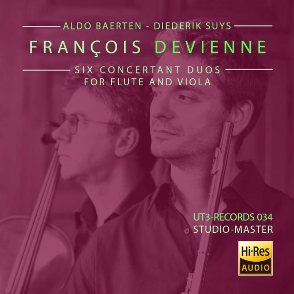Devienne, Six Concertant Duos for Flute and Viola